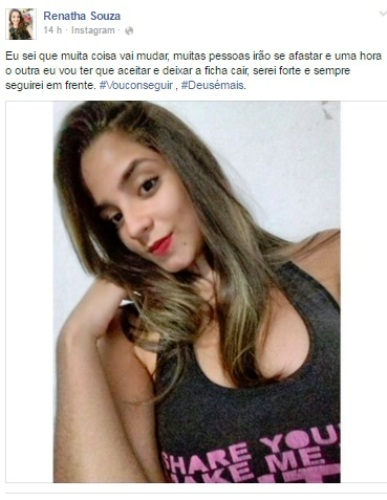 Renatha Souza, natural da cidade de São José do Sabugi/PB.
