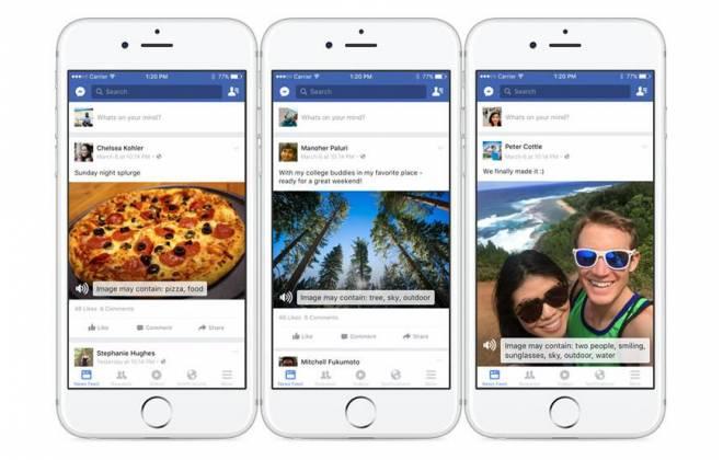 Facebook usa inteligência artificial para fazer usuários cegos 'verem' imagens