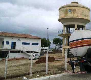 Estação Dourado, local onde é feito tratamento e distribuição da água.