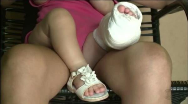 Polícia procura suspeito de agredir e fraturar perna de bebê na Paraíba