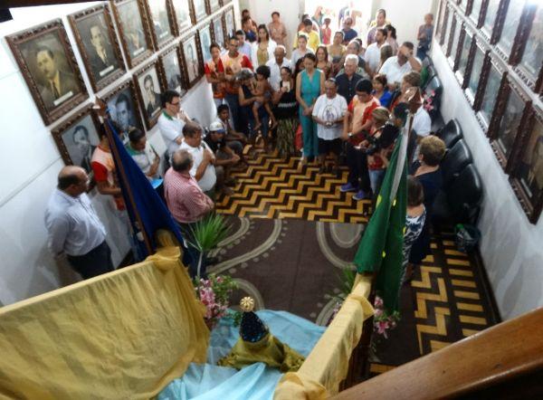 """Prefeito Vilton Cunha: """"Nossa Senhora Aparecida nos visita num momento muito feliz"""""""