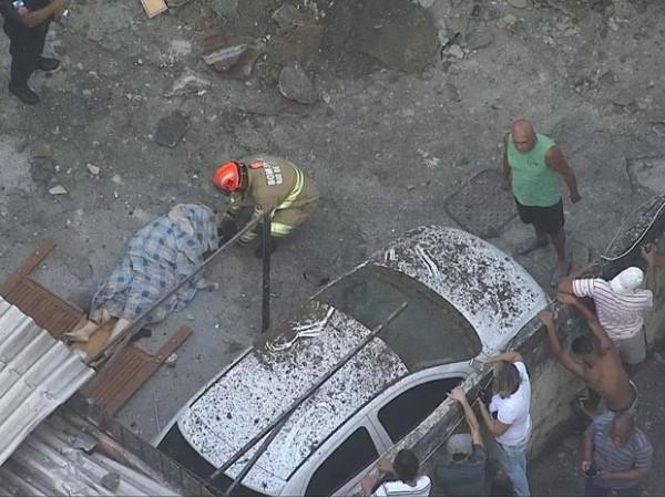 Explosão deixa mortos e feridos no Subúrbio do Rio