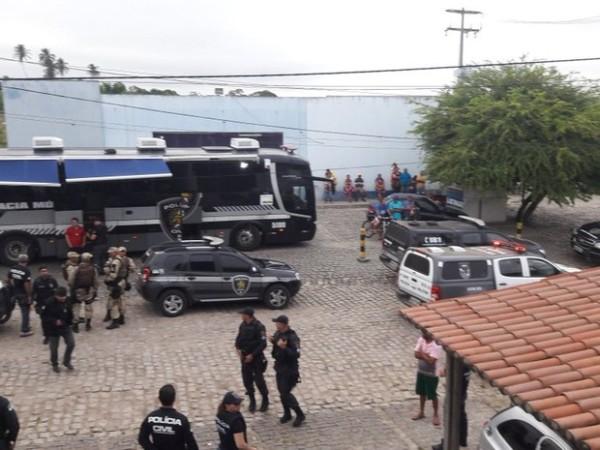 Polícias Militar e Civil combatem o tráfico de drogas no Agreste potiguar