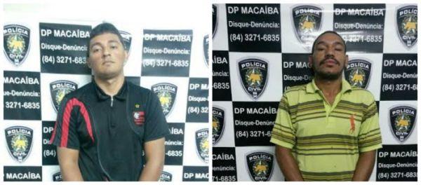 Dois suspeitos por homicídios são presos em Macaíba