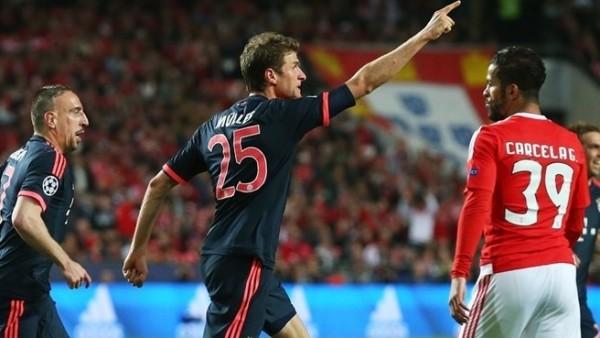 Benfica busca empate, mas Bayern vai à semifinal da Liga dos Campeões