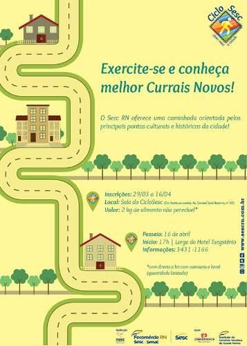 Currais Novos recebe o CicloSesc neste sábado (16)