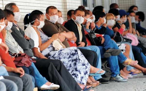 Metade dos casos de gripe no Brasil já é de H1N1; número de mortos chega a 71