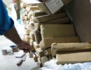 """Polícia apreende quase uma tonelada de """"pó branco"""" em Mossoró"""