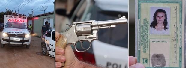 Suspeito de matar a própria mulher no RN, marido chama a polícia e foge