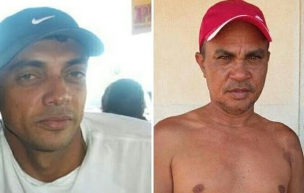 Pescadores, Manoel Anchieta Rodrigues e Francisco Antônio Rodrigues são procurados (Foto: Divulgação/Colônia de Pescadores de Areia Branca)