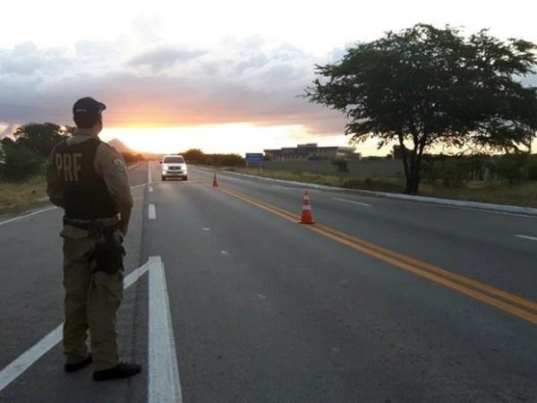 PRF vai aumentar o número de agentes em ações de fiscalização nas estradas federais do RN (Foto: Divulgação/ PRF)