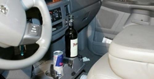 Projeto de Lei quer proibir transporte de pessoa alcoolizada no banco do passageiro