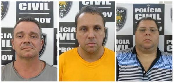 Polícia prende trio que desviou carga de cimento avaliada em mais de R$ 8 mil