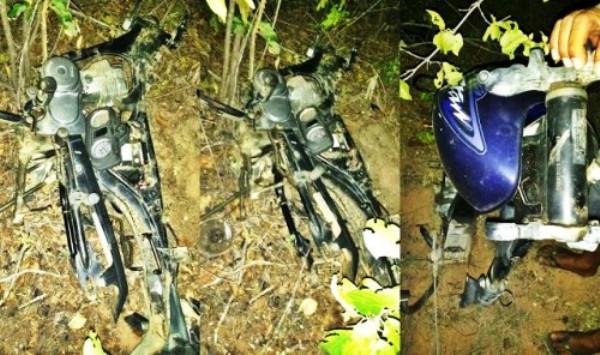 Polícia Militar fecha desmanche de motocicletas em Caraúbas
