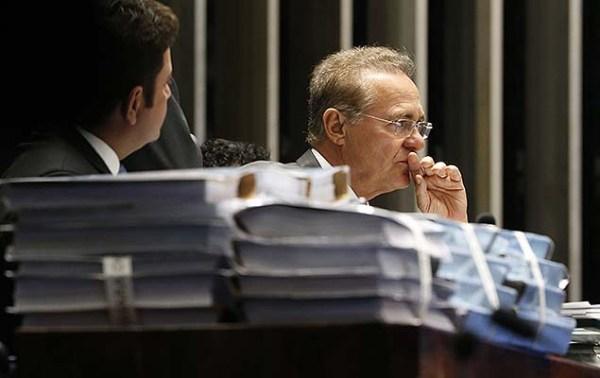 Renan chama anulação de 'brincadeira com a democracia' e mantém rito