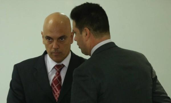O ministro da Justiça Alexandre de Moraes – André Coelho / Agência O Globo.