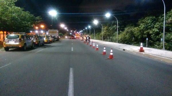 """CPRE realiza Operação """"Zero Álcool"""" e flagra condutores por embriagues em Natal"""