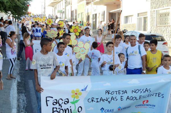 Currais Novos saiu às ruas contra o Abuso Sexual Contra Crianças e Adolescentes
