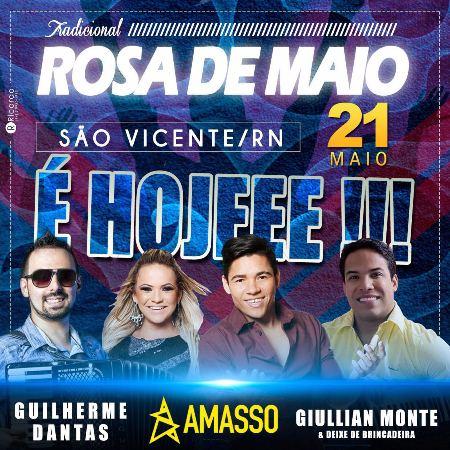 CHEGOU O DIA! São Vicente realiza hoje a tradicional festa da Rosa de Maio