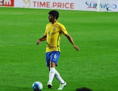 Seridoense é o primeiro jogador da região a defender seleção de base do Brasil