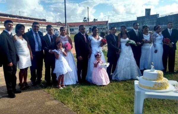 Detentos se casam dentro da maior unidade prisional do RN