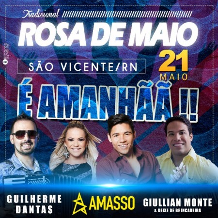 SÃO VICENTE comemora 20 anos da tradicional Rosa de Maio, neste sábado (21)