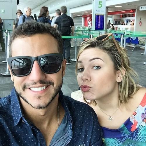 Matheus e Maria Claudia se despedem de Natal