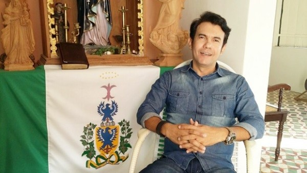 Padre Jocimar Dantas de Araújo, prefeito de Jardim do Seridó (Foto: Josimário Nunes)