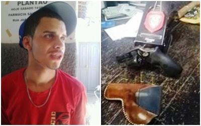 CURRAIS NOVOS: Polícia Civil prende homem suspeito de cometer vários crimes