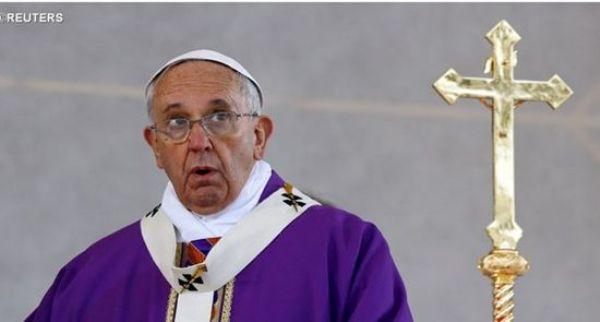 Papa pede harmonia e paz ao Brasil para superar crise
