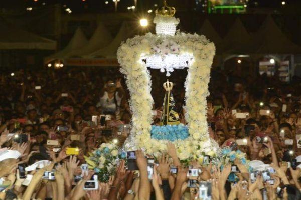 Coroa da imagem da padroeira do Brasil vai ter grão de terra do RN