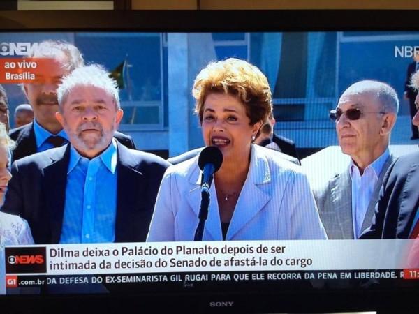 Mesmo afastada, Dilma continuará recebendo salário de R$ 27 mil