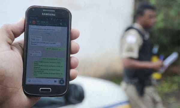 É ilegal o acesso pela polícia do WhatsApp do preso.