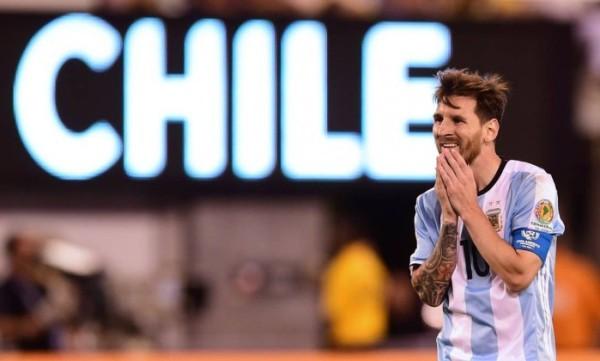 Após derrota para o Chile, Messi afirma que não joga mais pela seleção Argentina
