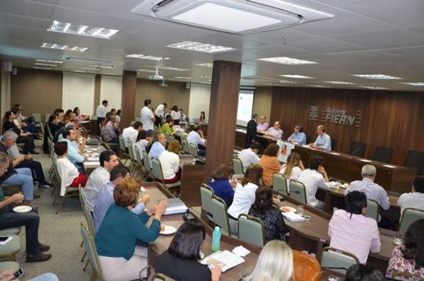 Encontro debate modernização da gestão do Sistema FIERN até 2020