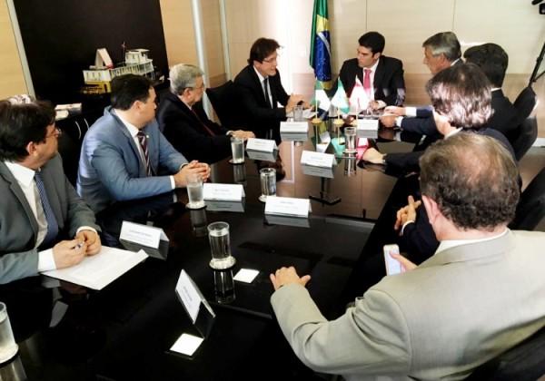 Governador pede agilidade na liberação de recursos para obras hídricas no RN