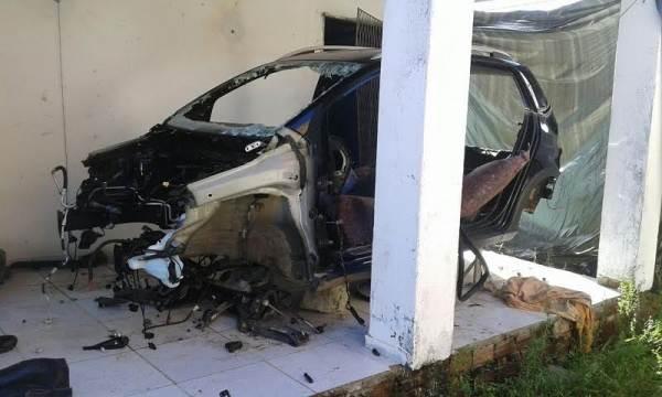 Polícia Militar localiza desmanche de veículos em Natal