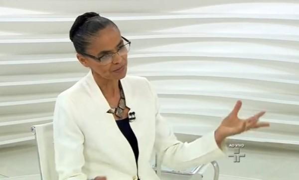 'Não queremos trocar seis por meia dúzia' diz Marina sobre PMDB e PT
