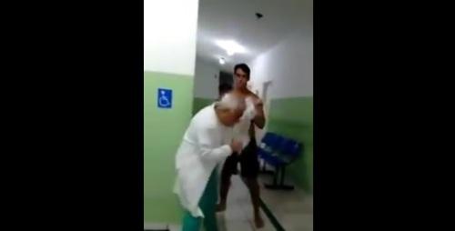 MP denuncia homem que agrediu médico dentro de hospital no RN