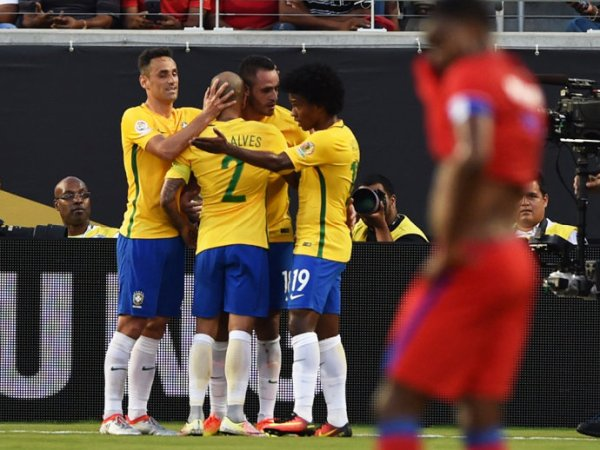 7 a 1 a favor: Brasil desencanta e goleia o Haiti