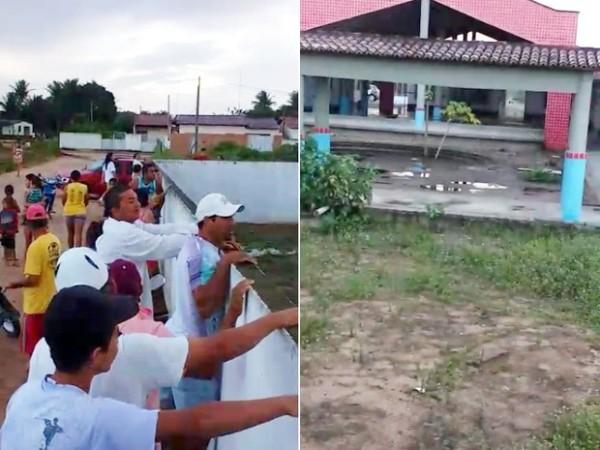A creche onde os corpos foram encontrados fica na zona urbana de Vera Cruz.