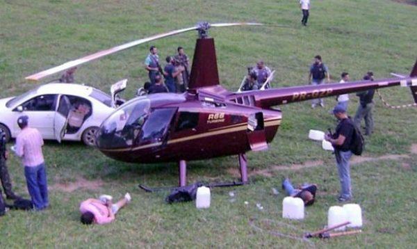 Dono do helicóptero apreendido com cocaína é nomeado no Ministério do Esporte