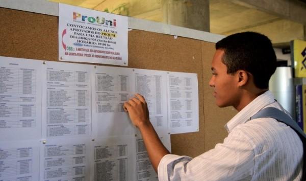 MEC divulga hoje a lista dos pré-selecionados na segunda chamada do ProUni