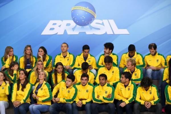 Com 462 atletas, Brasil competirá com maior delegação da história na Rio 2016