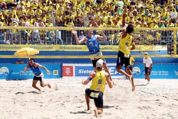 Copa Natal de Voleibol será disputada na Praia do Meio