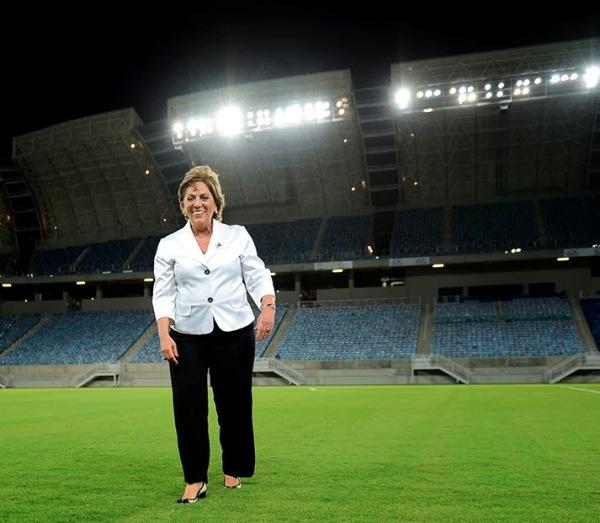 Rosalba é apontada pelo TCE como uma das responsáveis por irregularidades na Arena