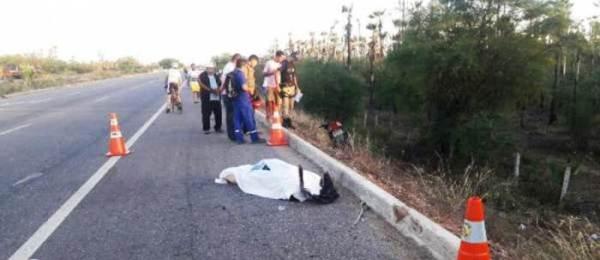 Professora morre em acidente de moto na BR-304 em Mossoró