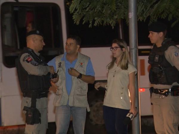Repórter é assaltada em reportagem sobre insegurança na Paraíba