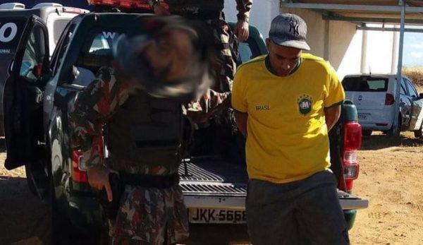 Cipam capturou mais um foragido do Presídio de Caicó - (FOTO: Rosivan Amaral)