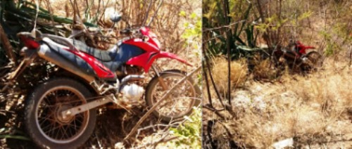 LAGOA NOVA: PM recupera moto roubada nesta sexta-feira (29)